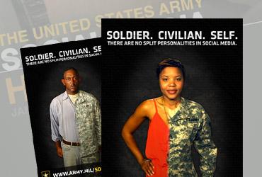 U.S. Army Social Media Handbook Ads