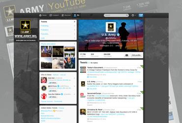 U.S. Army Social Media Branding