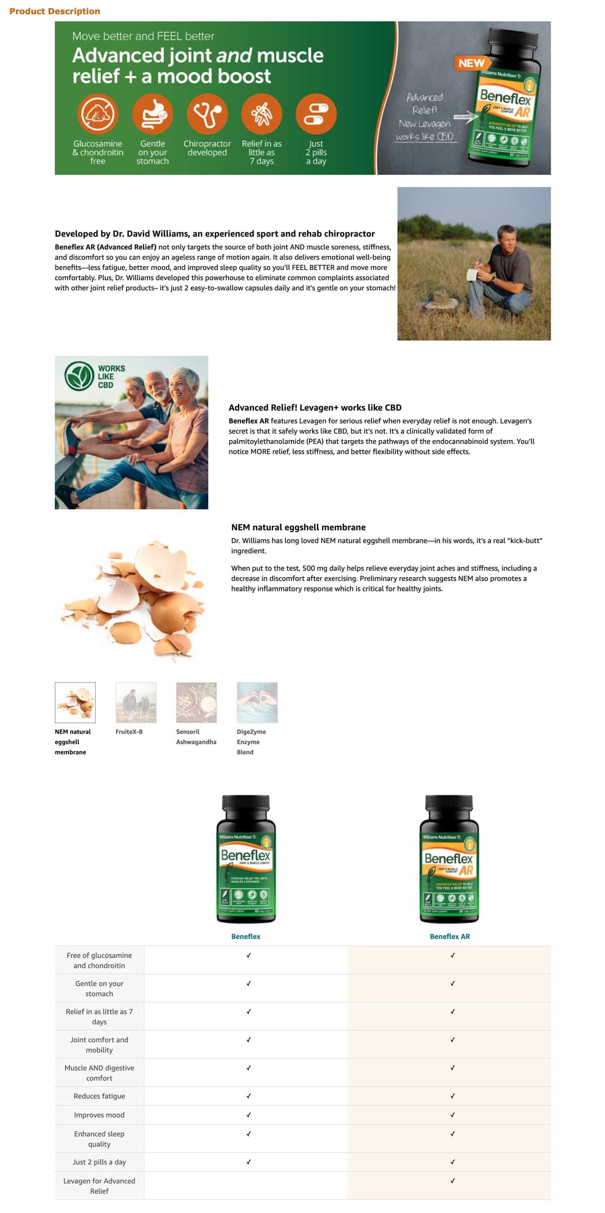 Beneflex AR Enhanced Brand Content