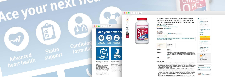 Omega Q Plus MAX Enhanced Brand Content